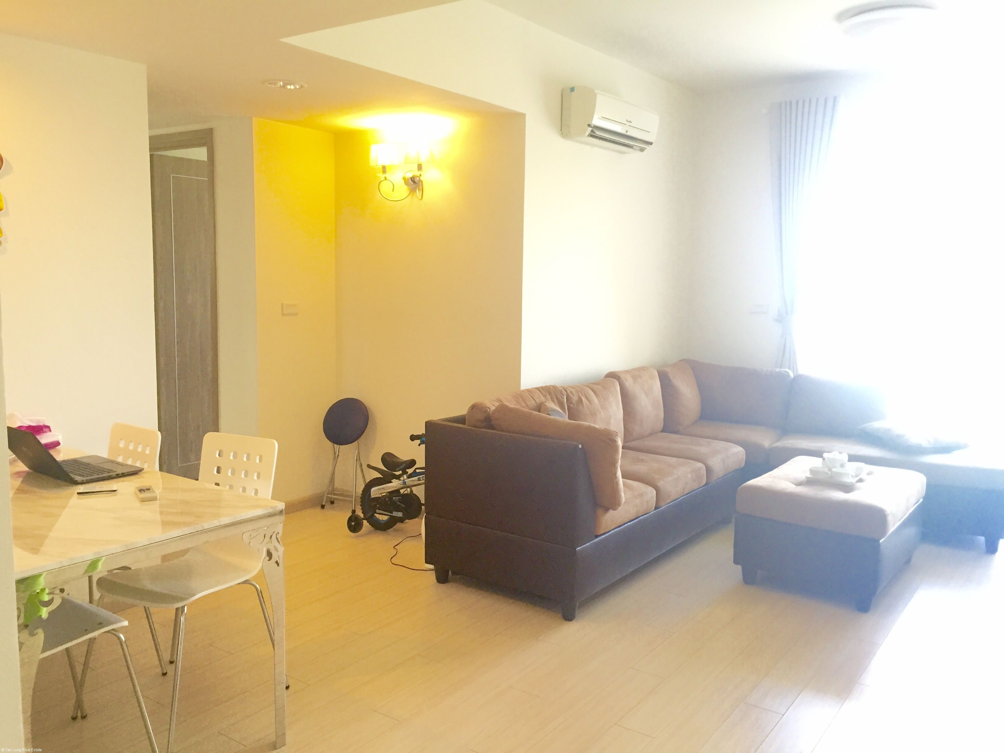 Modern apartment for rent in green urban area of Hanoi city – Ecopark.