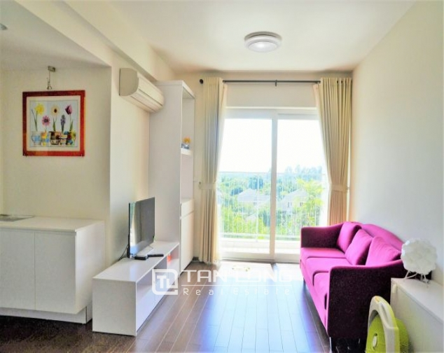 Renting 3 bedroom apartment in Ecopark Van Giang, full of colorful furniture