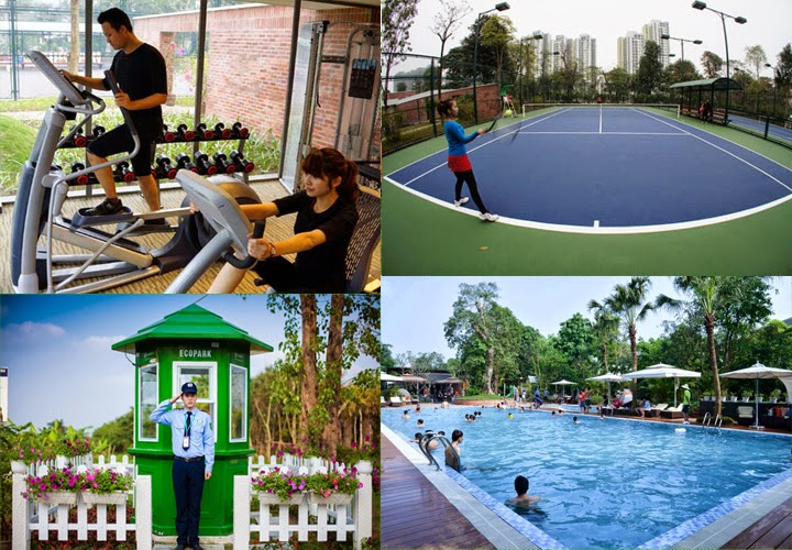 amenities in ecopark van giang villas