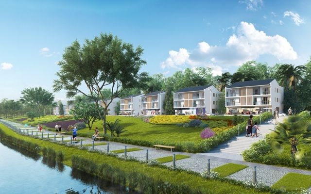 Lakeside villas in Park River