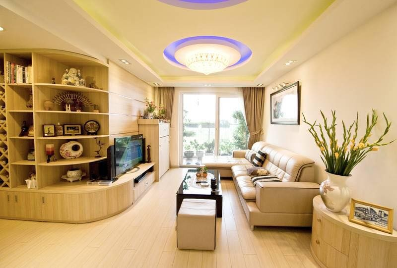 Living room in 2 bedroom apartments Ecopark Van Giang