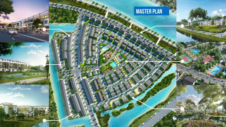 Master plan of Park River