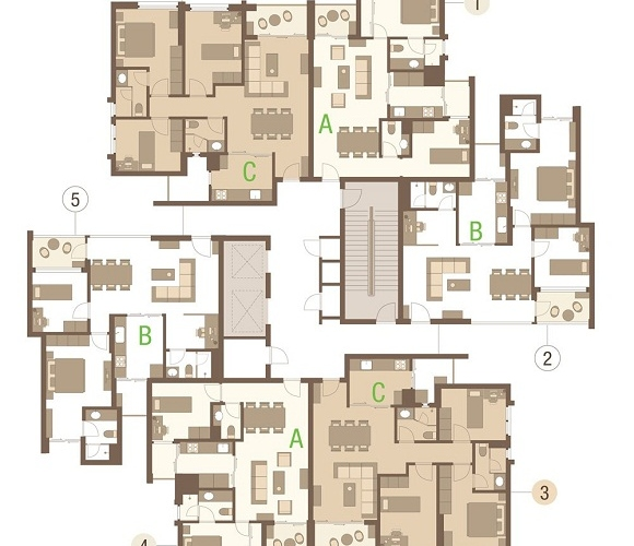 rung co apartments ecopark layout